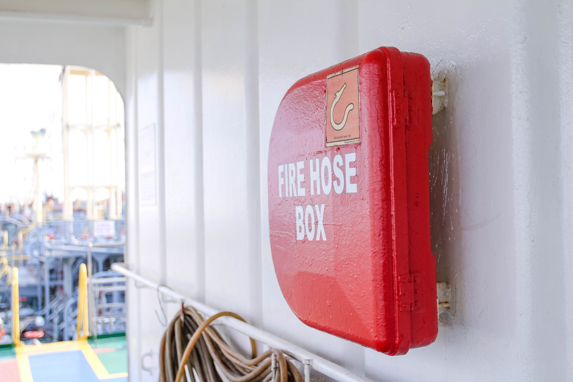 Wall Mounted Fire Hose Box